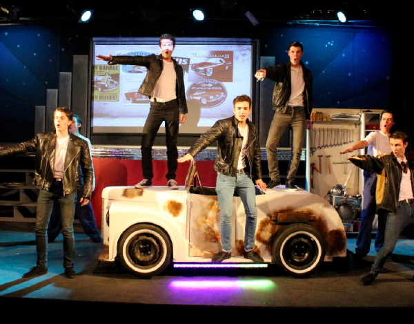 Grease car