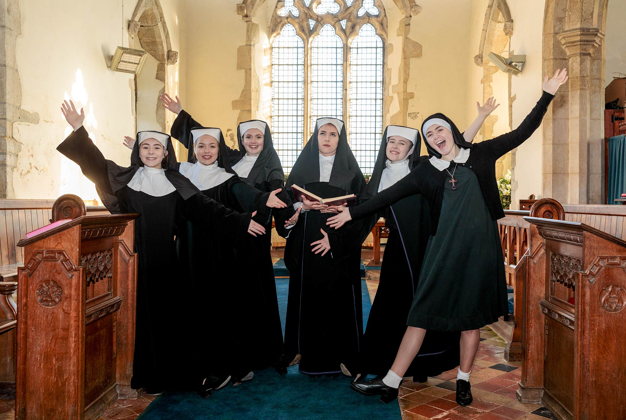 Sister Act in Spaldwick Church